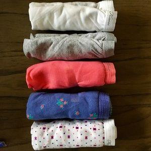 Women's Cotton Brief Hi Cut Hands Panties 6 pair 7